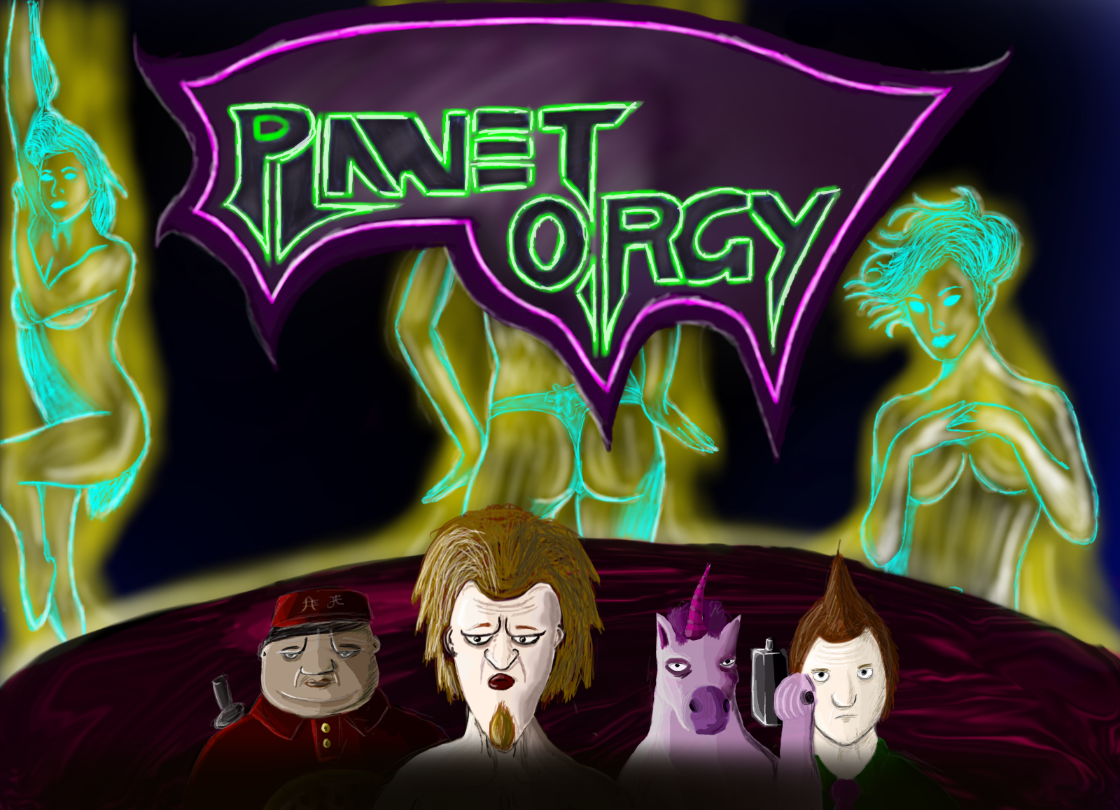 Planet Orgy poster