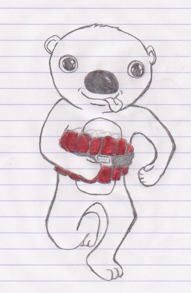 Suicide bear