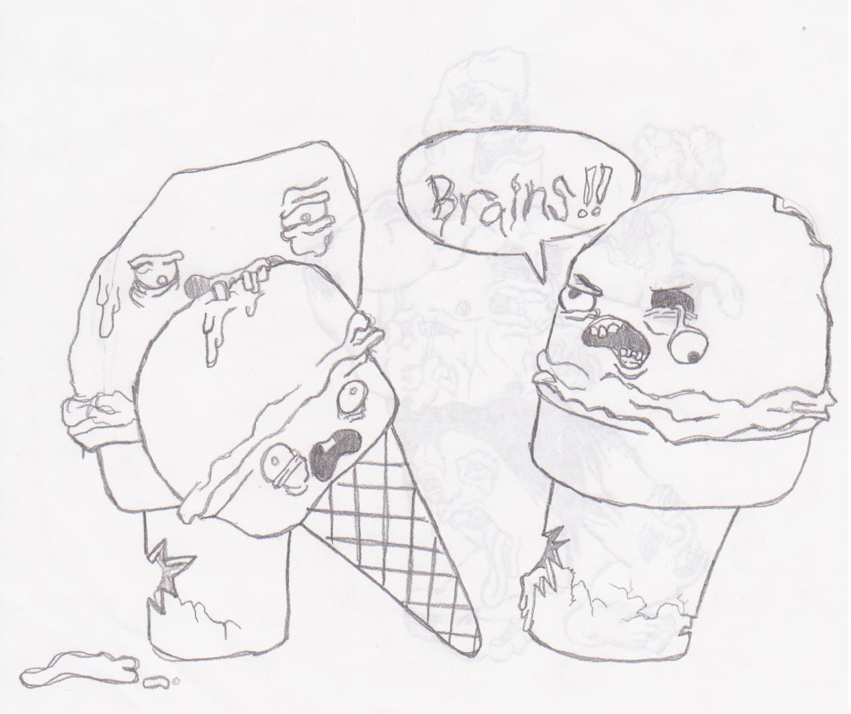 Zombie And Ice Cream