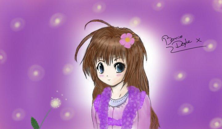 anime girl x