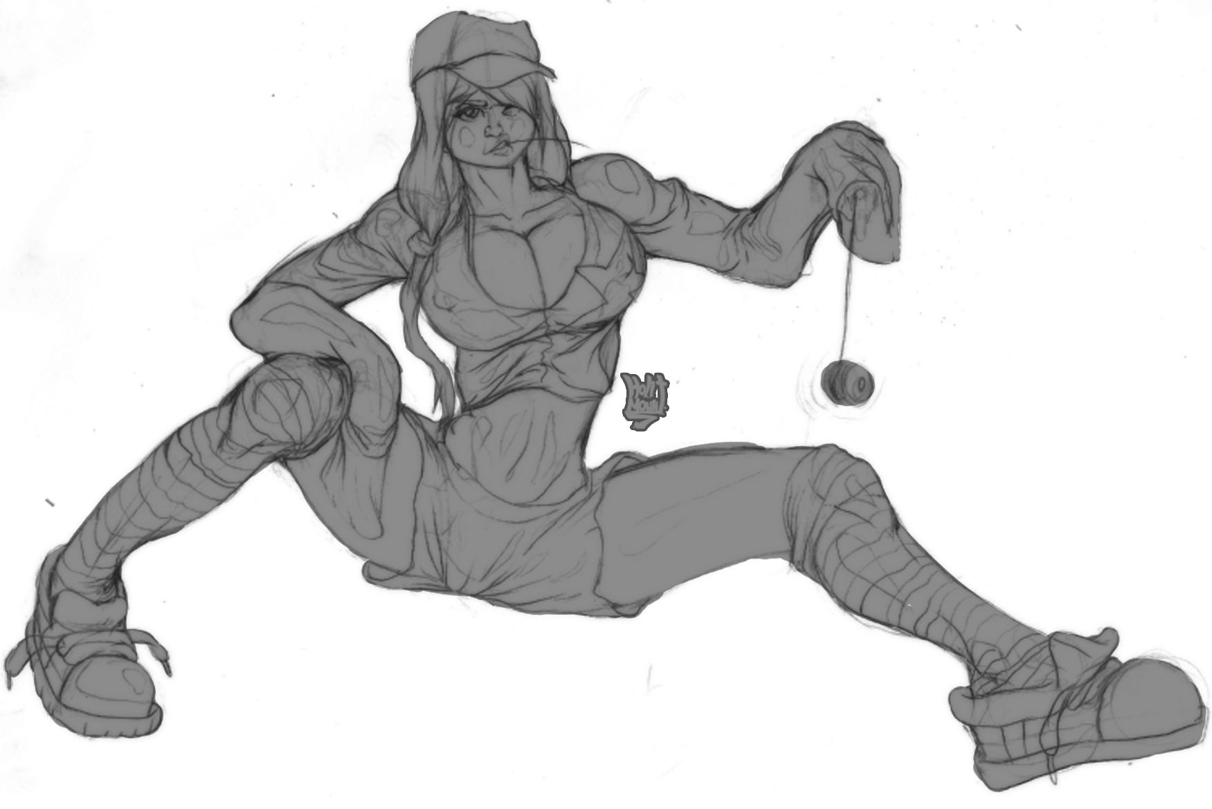 tomboy gurl doodle