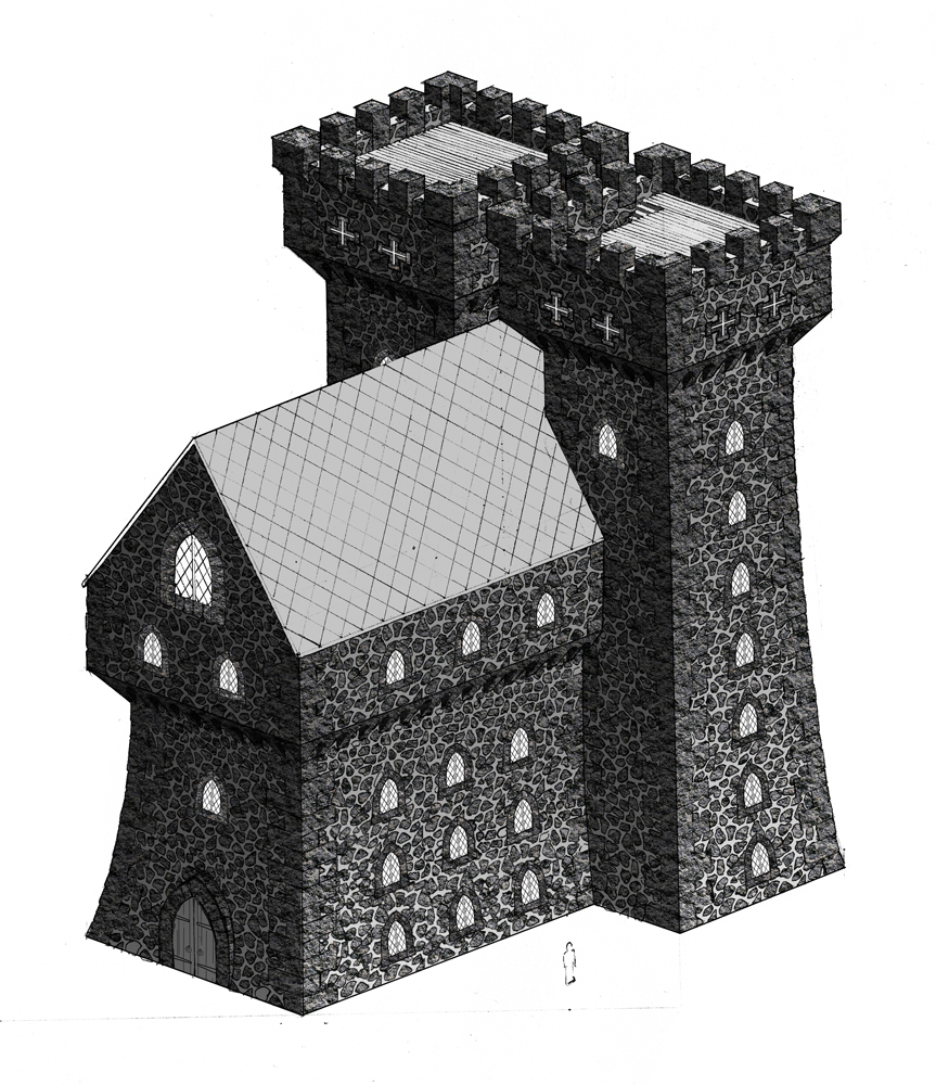 Ortus castle design