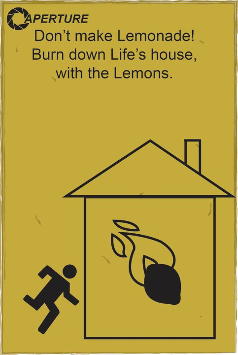 Portal 2 and Lemons