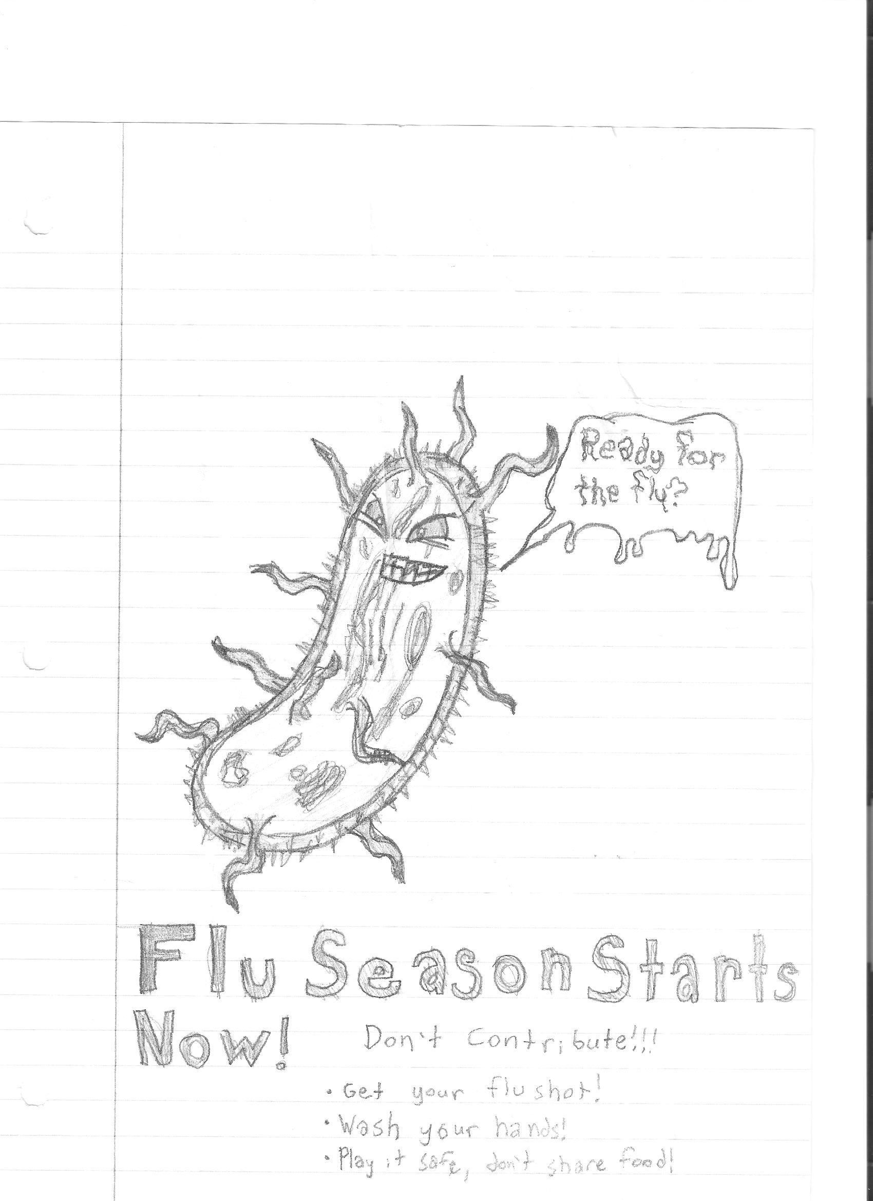 Bacterium Doodle