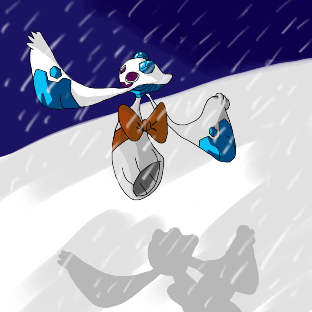 froslass snow storm