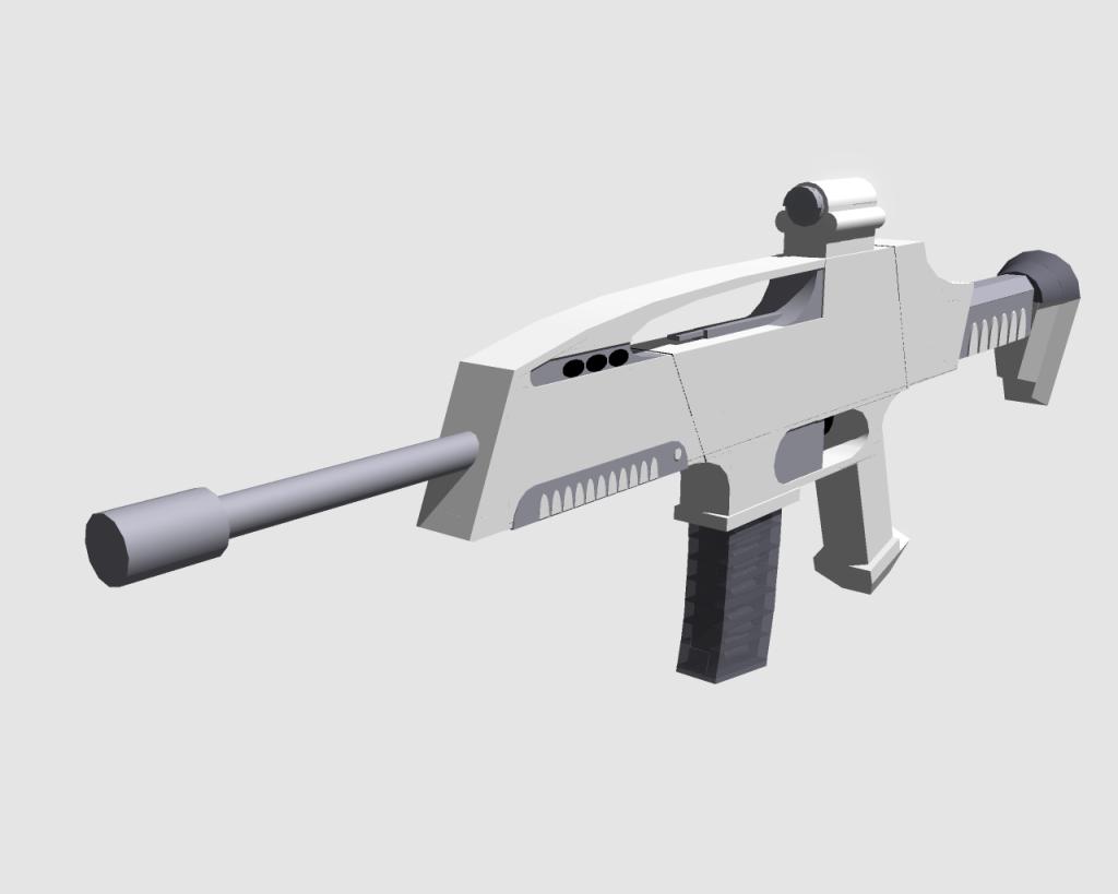 XM8 Model (Weapon)