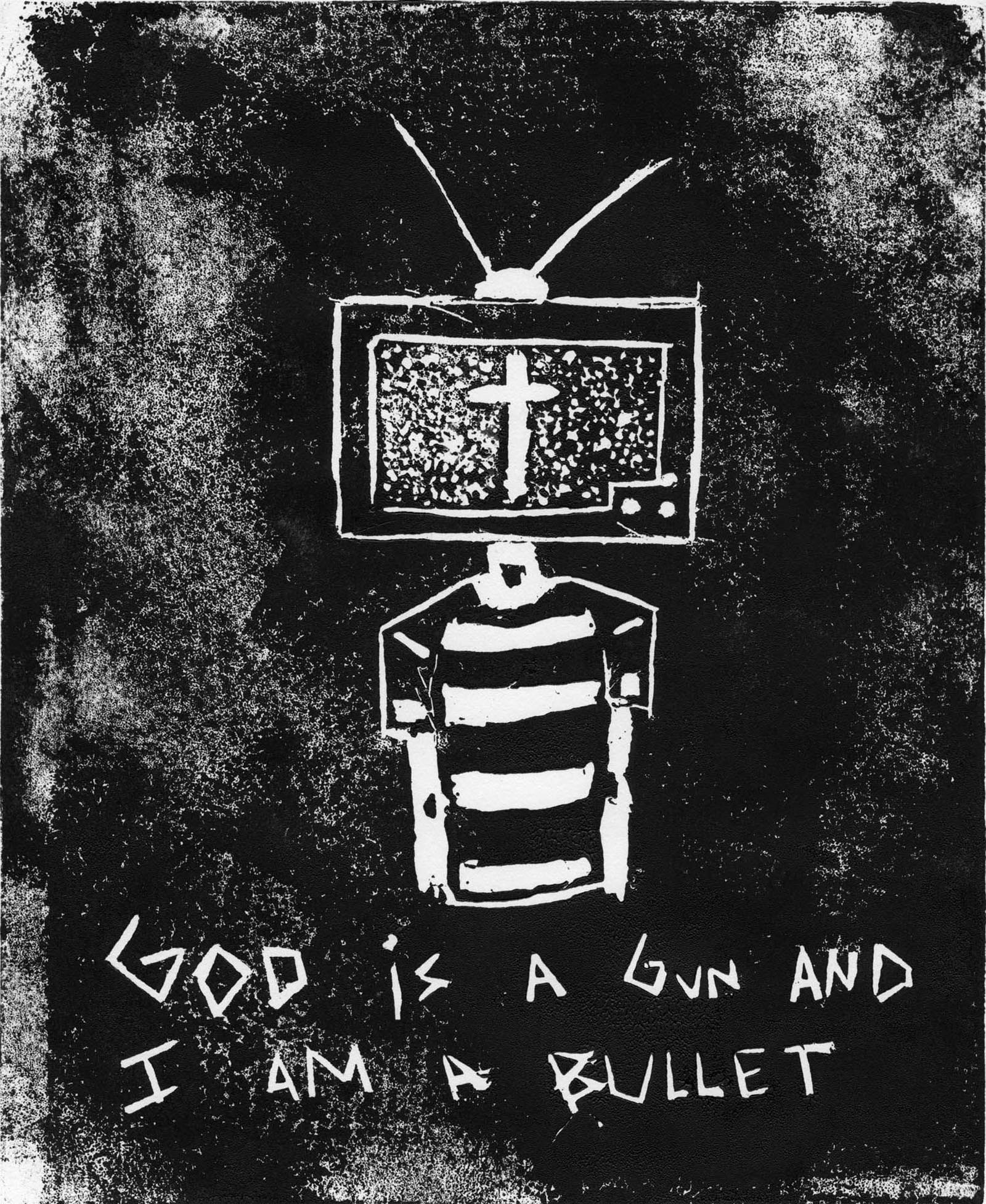 God is in the T.V.