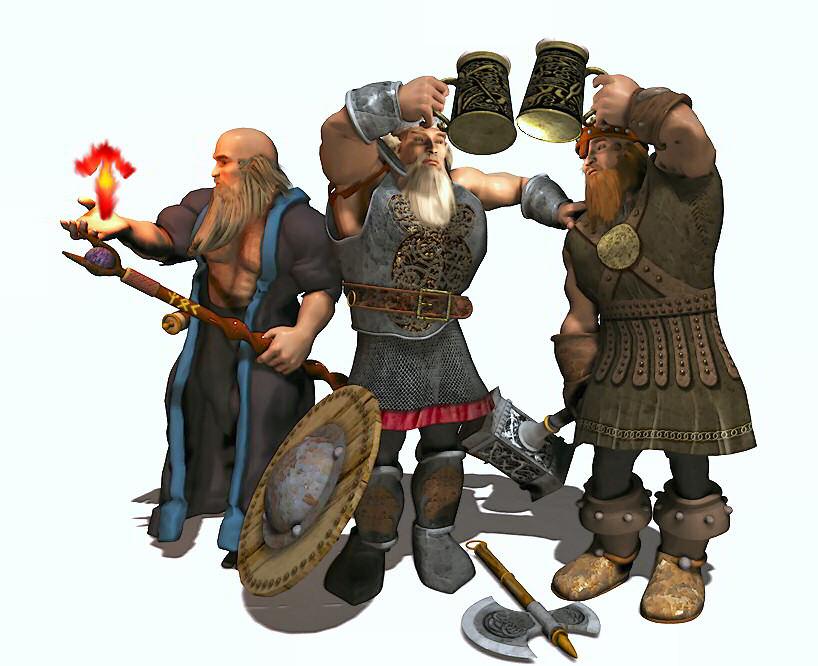 WAR Dwarfs
