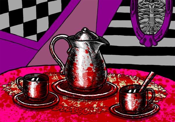 Bloody Tea