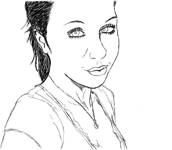 Hawt Girl Portrait