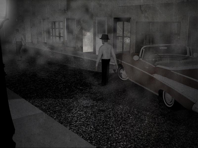 Film Noir Scene