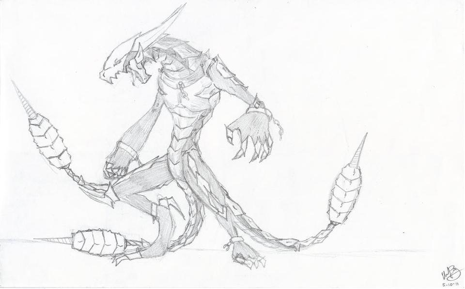 Ridgeback Dragon V.1