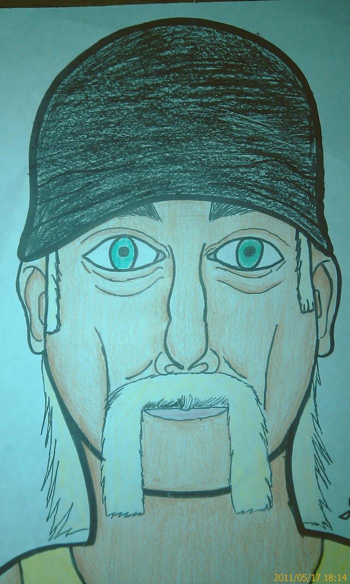 Hulk Hogan Drawing