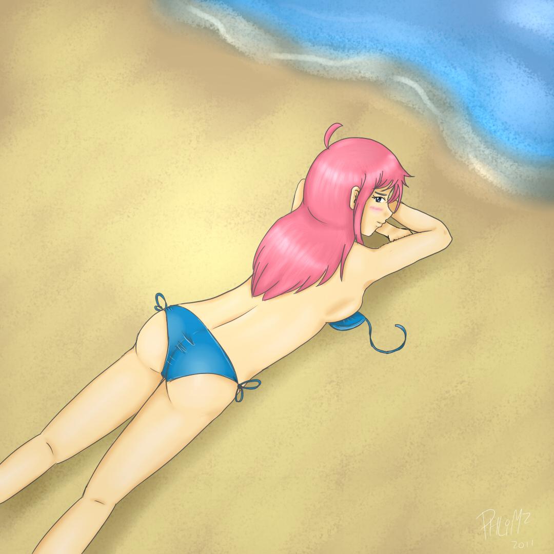 Yoshiko At The Beach