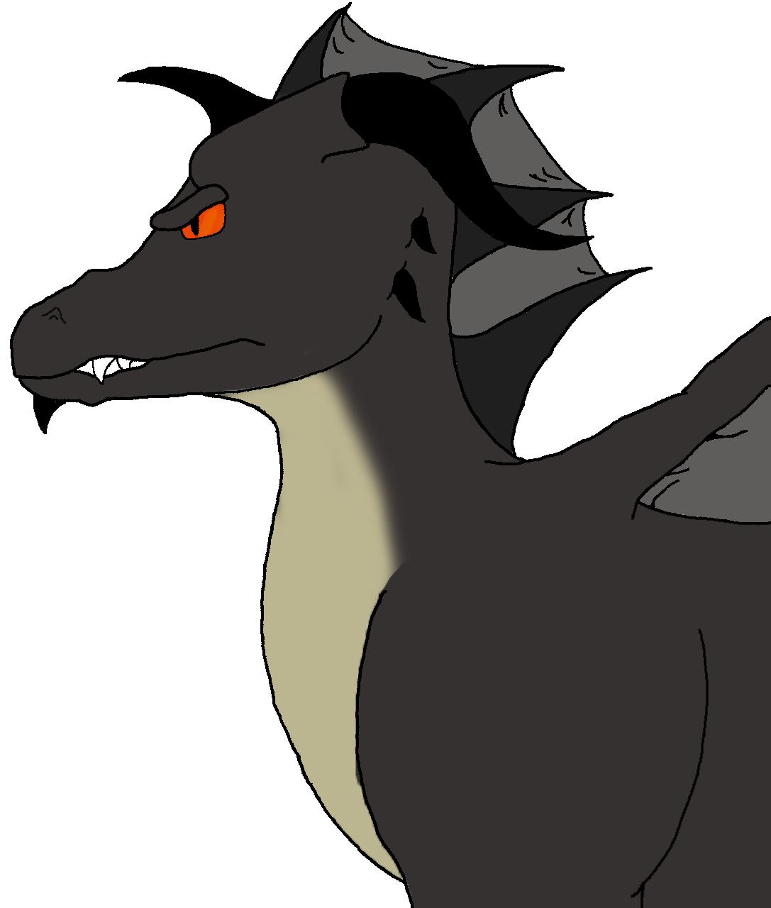 Dragon Flat Color