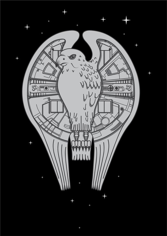 The REALMillenium Falcon
