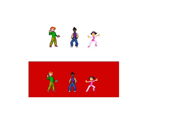 pico and friends pixel art