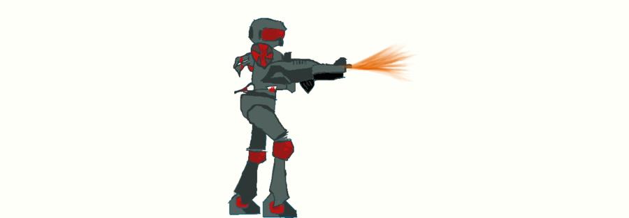 armor mayhem fanart