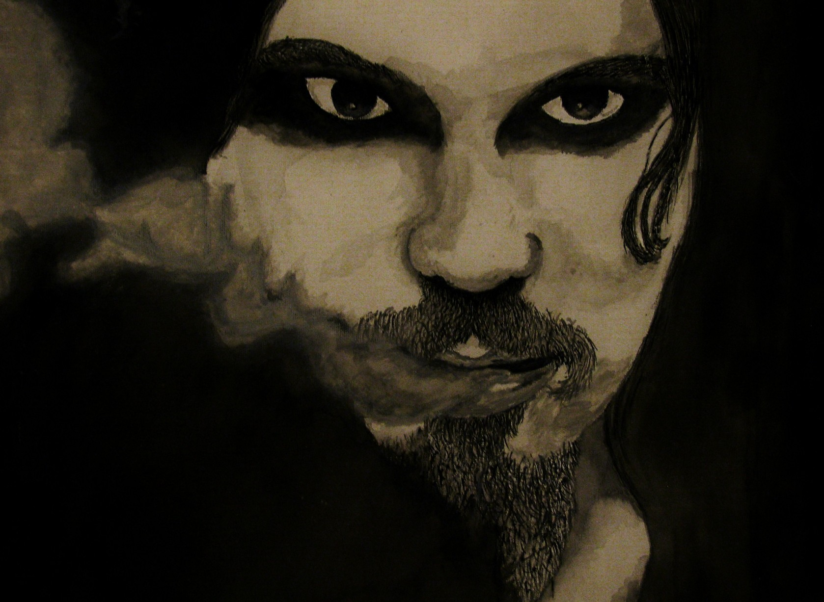 Ville Valo - Watercolour