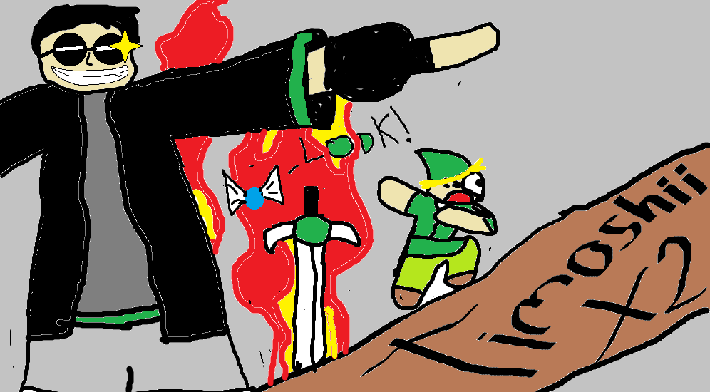 link, YOU EAT IN HELL!!