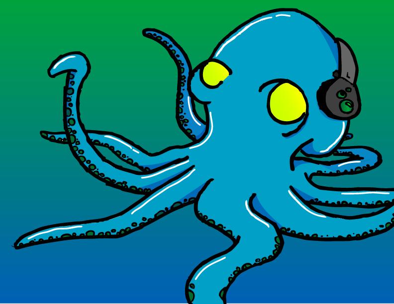 Roscoe The octopus