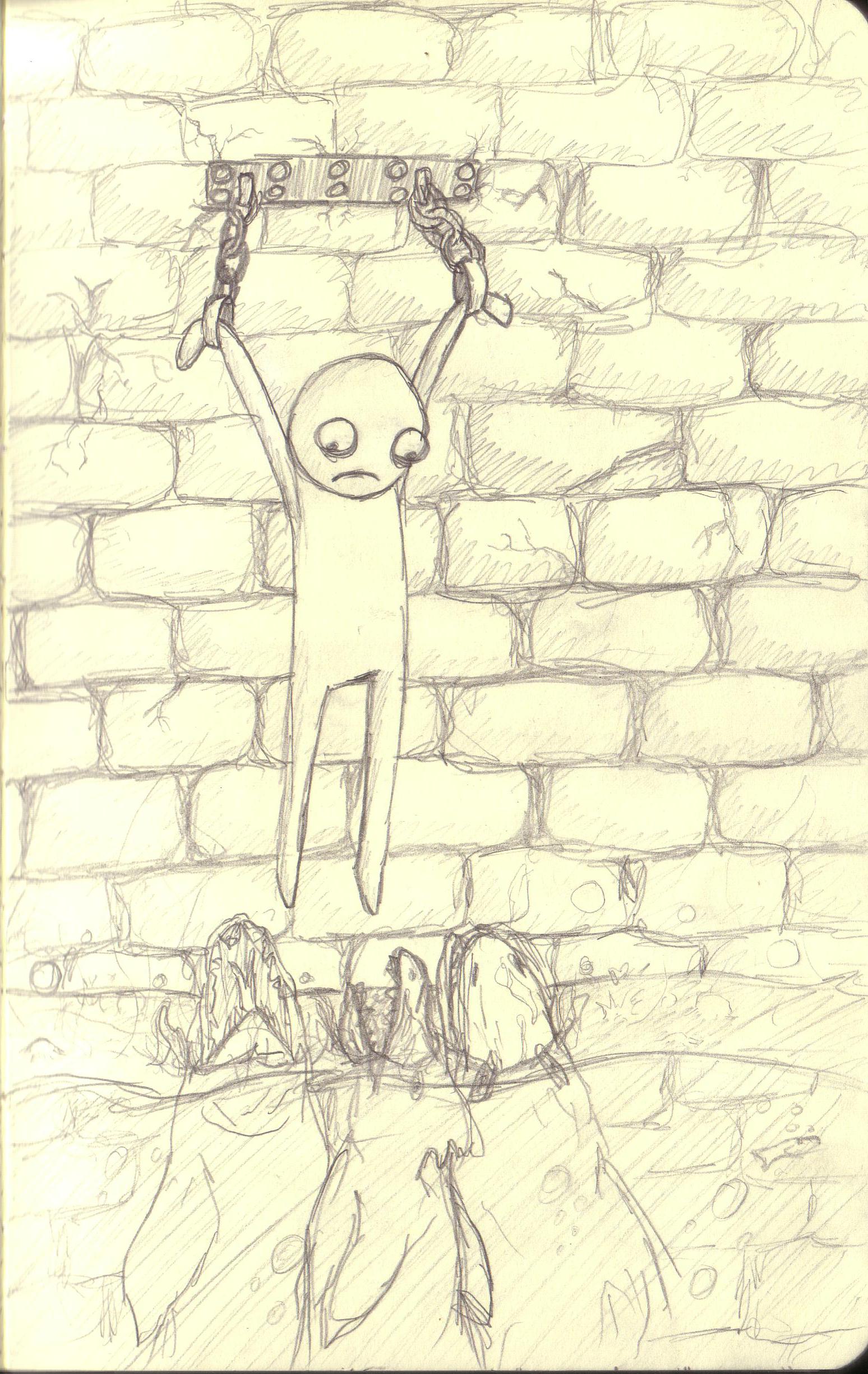 Guy on wall