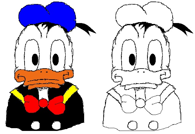 Donald Duck (Paint MS)