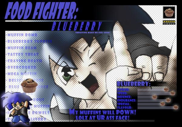 Food Fighter - Blueberry