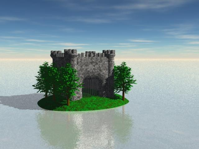 Castle in the Ocean