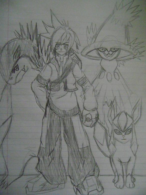 Pokemon Trainer Myth Darkstar