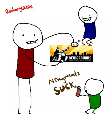 Newgrounds rules!!!