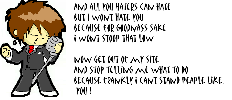 my poem to haters