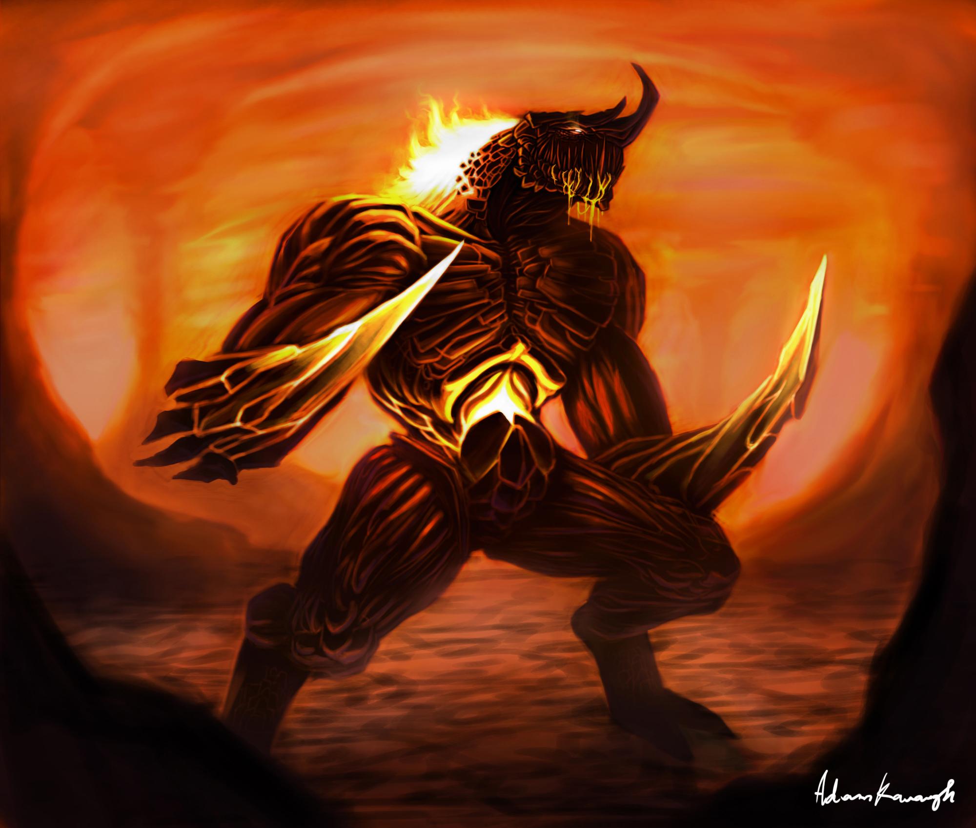Fiery Beast