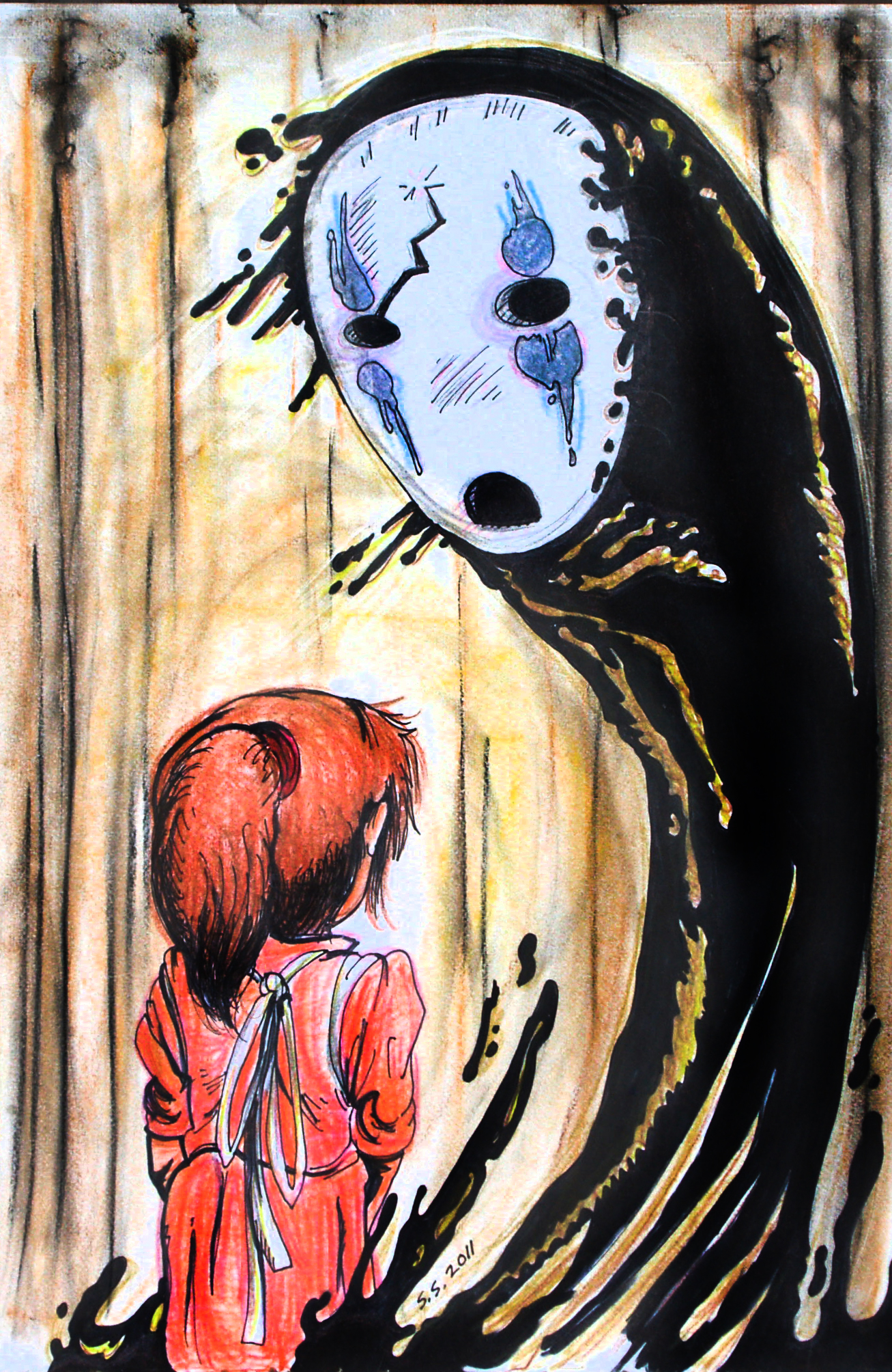 Chihiro meets No Face