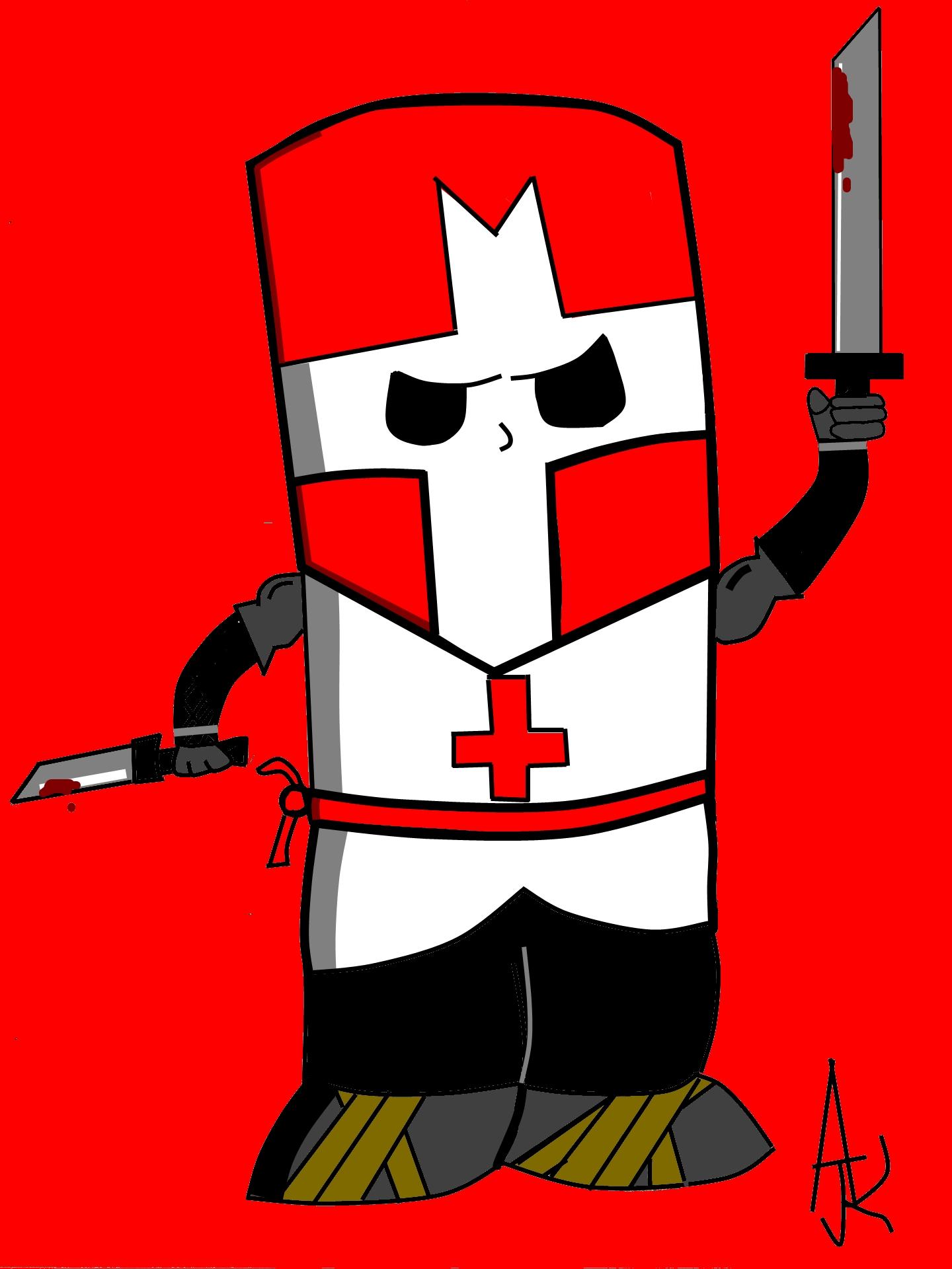 Castle Chrashers RED KNIGHT