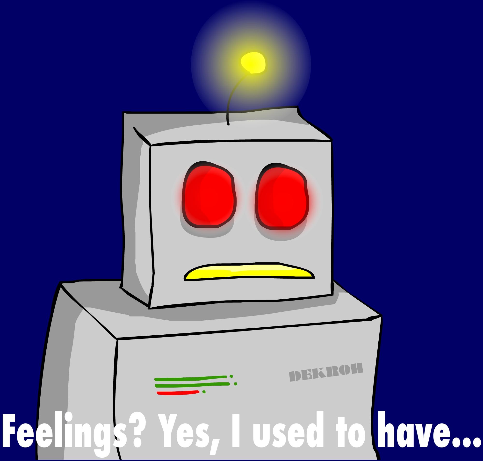 Robot feelings