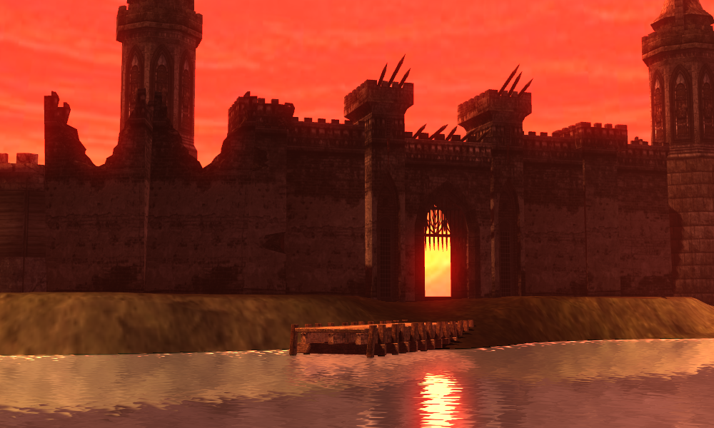 Castle of Flame