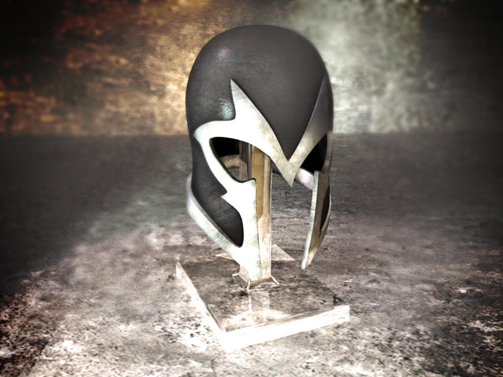 Magneto's helm