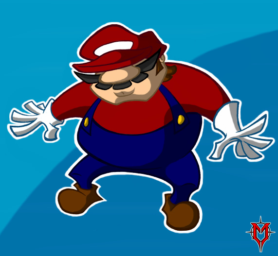 Nondescript Red Plumber Man