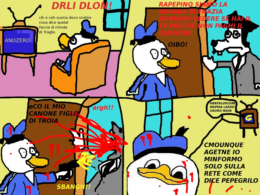 Uncle Dolan ITA #1 - Canone TV