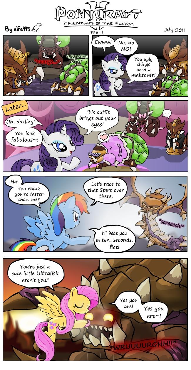Ponycraft2 - Zerg (part 1)