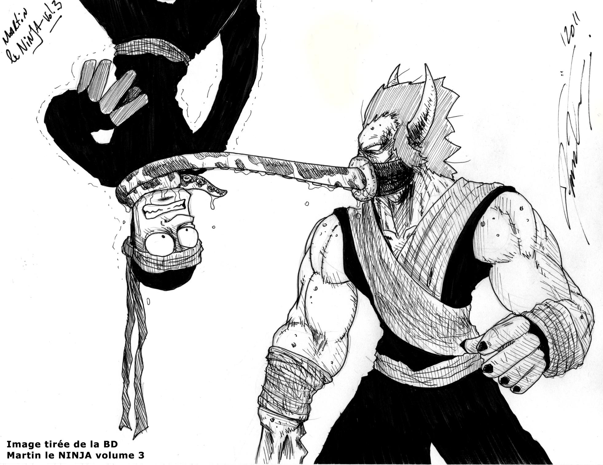Ninja VS Demon