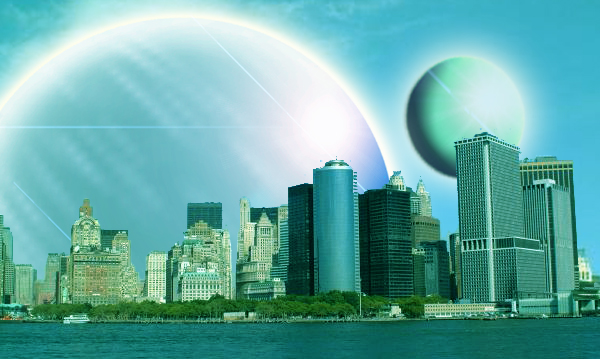New York, on another world
