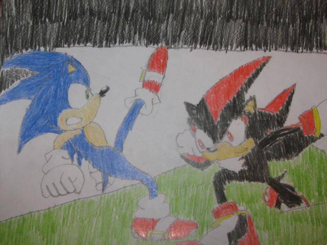 Shadow Trips Sonic