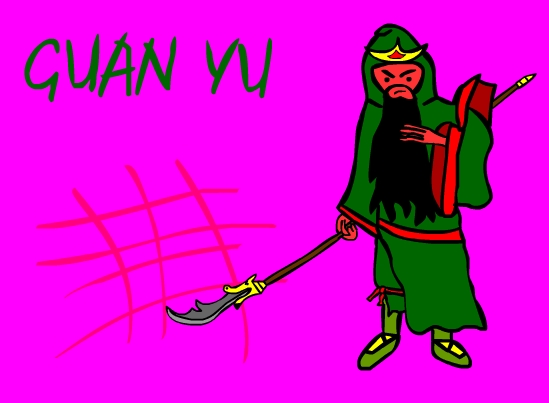 Adventure Time Guan Yu!