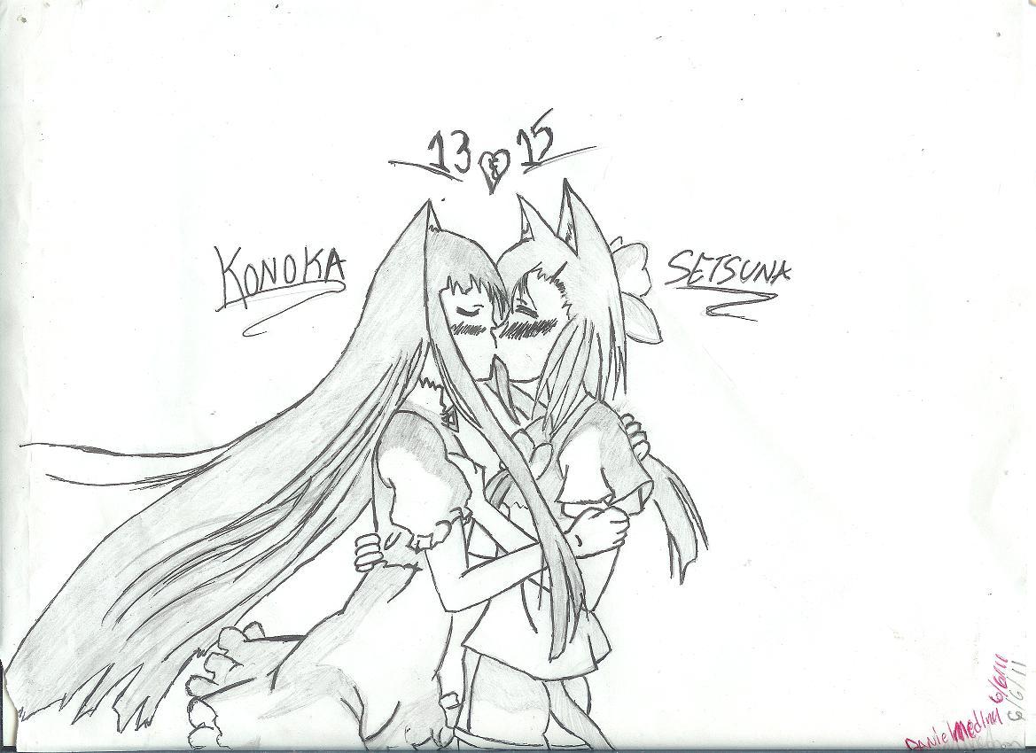 Konaka + Setsuna