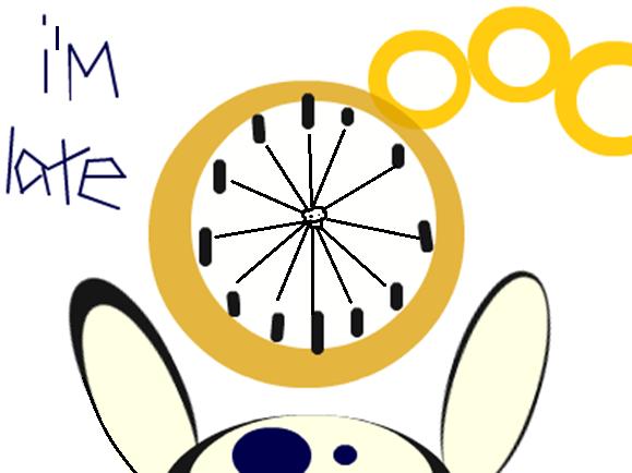 i'm late