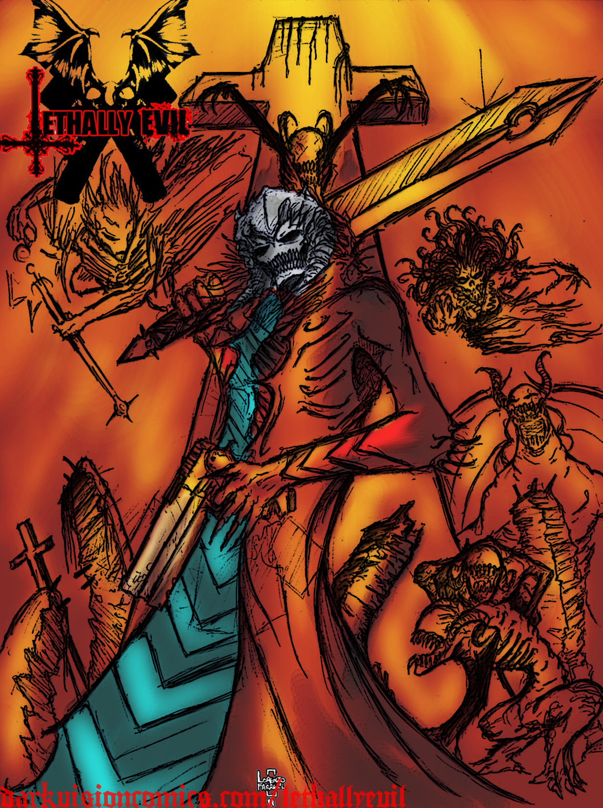Lethally Evil Cover