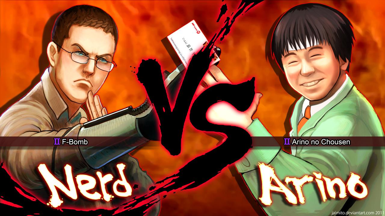 Nerd VS Arino
