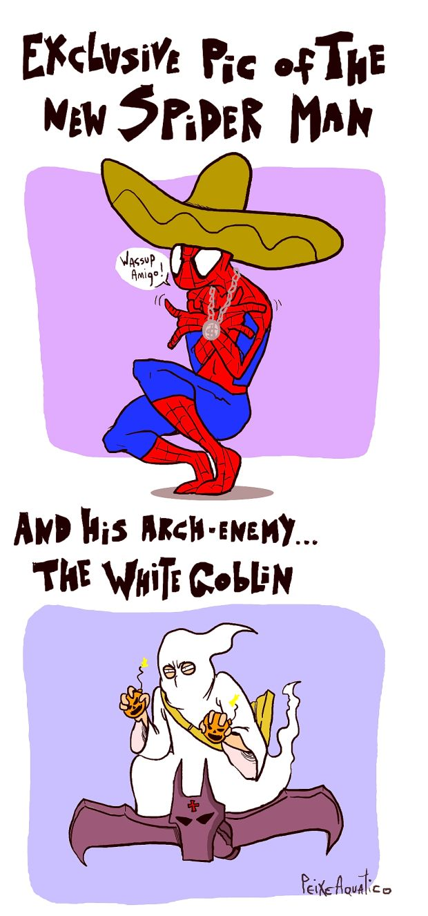New spider man